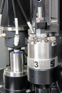 photo of wax dosing setting